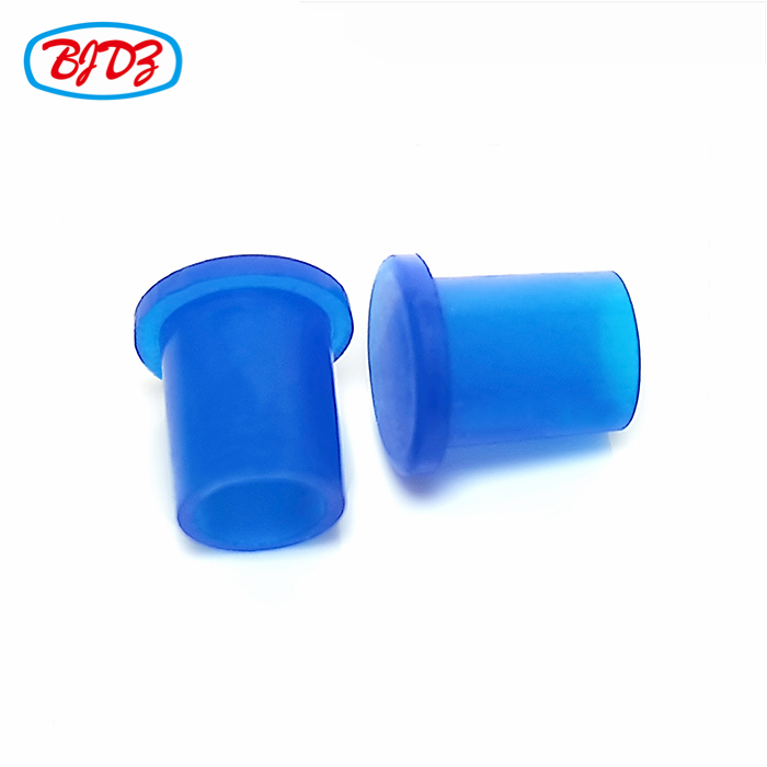 Blue or customized color SMA KFD connector dust cap rubber protection cap for rf connector