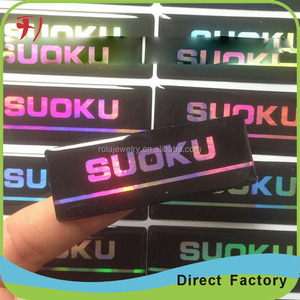 epoxy dome Factory custom full color printing glass etching sticker roll/3m pvc sticker roll