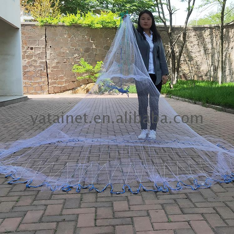 Traditional hand cast net throw for sale high quality fishing nets