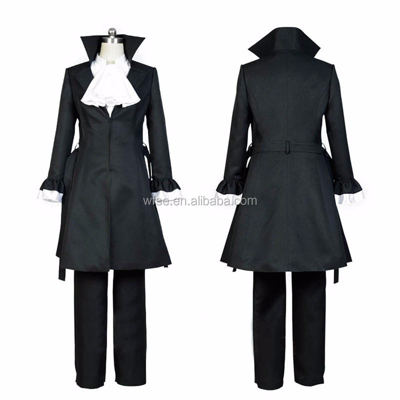 New Bungou Stray Dogs Cosplay Ryunosuke Akutagawa Anime Cosplay Clothing Bungo Stray Dogs Men Cosplay Costumes