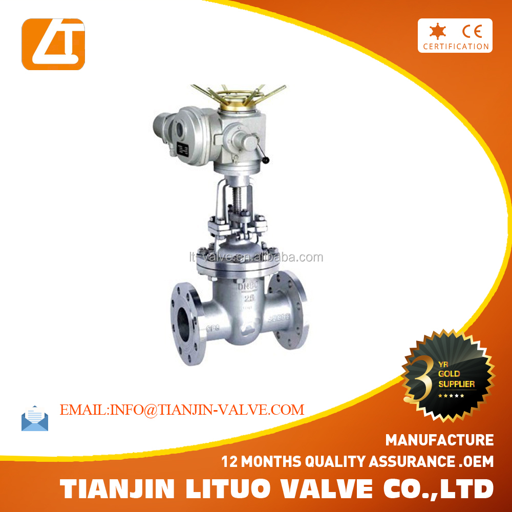 stainless steel ss gate valve for water supply and for oil and <strong>gas</strong>