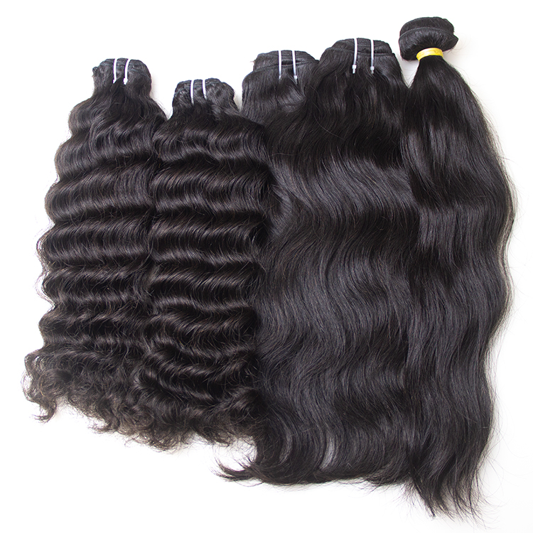 Free Sample Wholesale Raw Indian Curly Hair Cuticle Aligned Vendors Virgin Burmese Wave Weave Human Bundles Directly From India