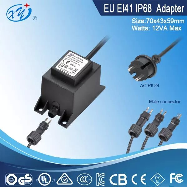 Good Quality EU Plug Switching Power Low Prices 220v 9v AC DC Adaptor for Water Pump