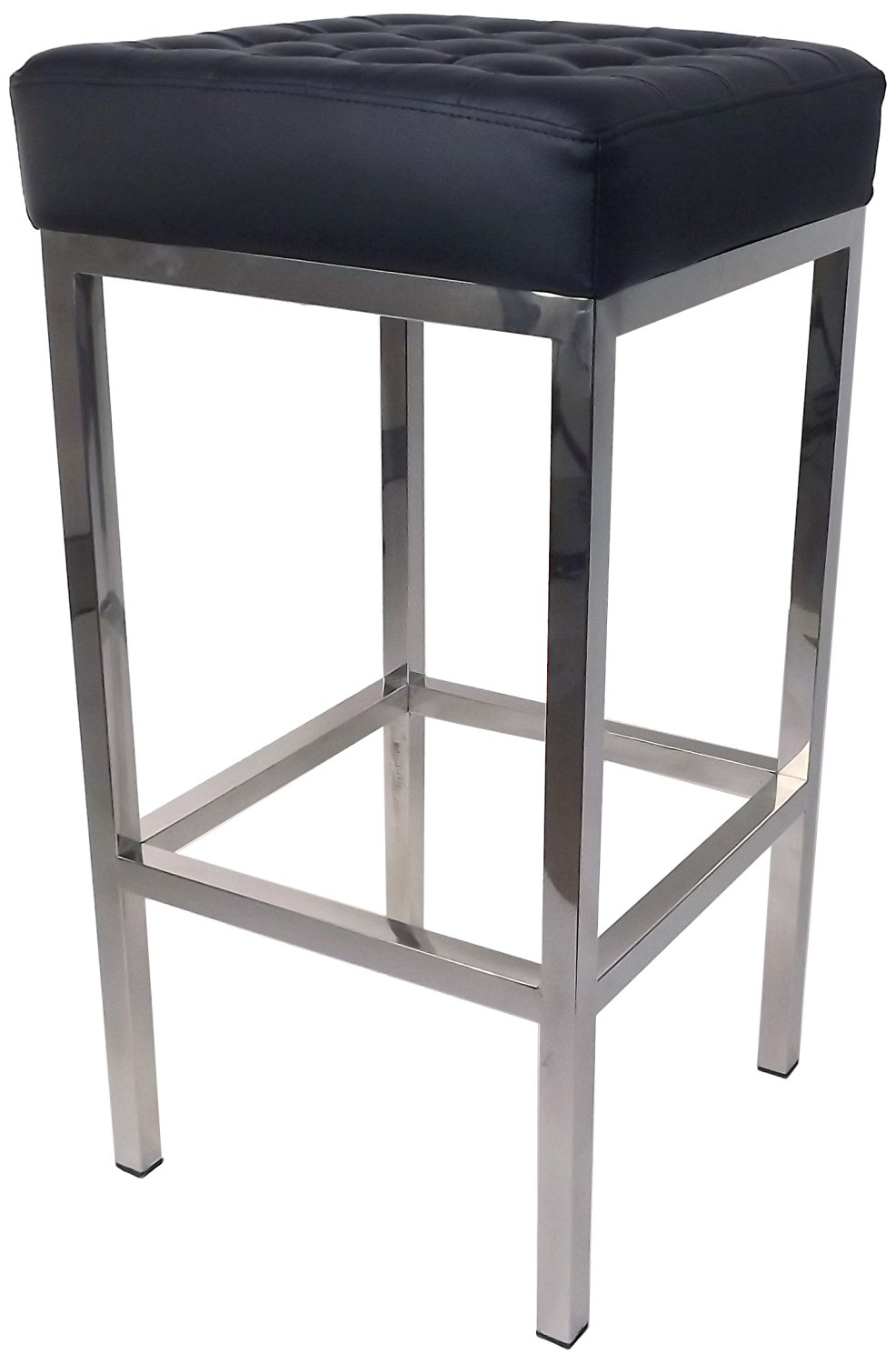 Control Brand FH-K2 BLACK The Florence Tufted Stool