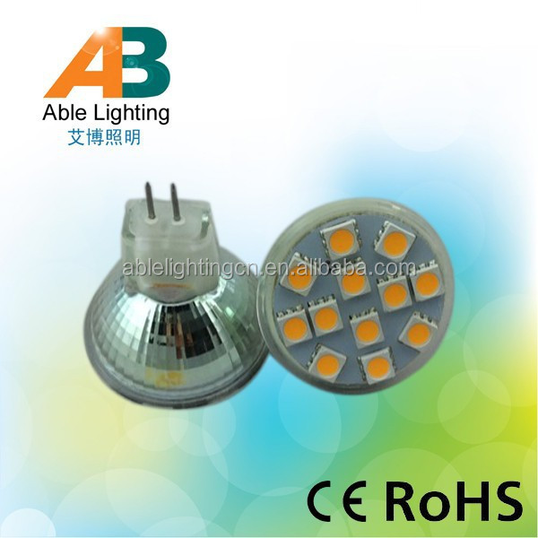 35mm diameter high power 2.4w 3000k/4500k/6000k 12v led <strong>spotlight</strong> mr11