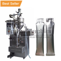 Cup automatic packing machine creamer crab roe sauce bottles packaging machinery