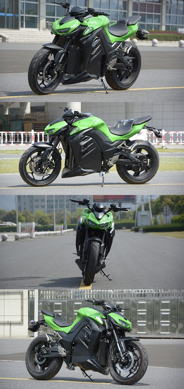 Kawasaki Electric Motorcycle Sur Ron Bee With Cheap Price ...