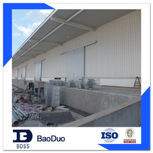 prefab steel structure grain warehouse