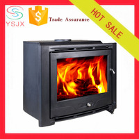 Classcial design insert wood pellet stove/fireplace