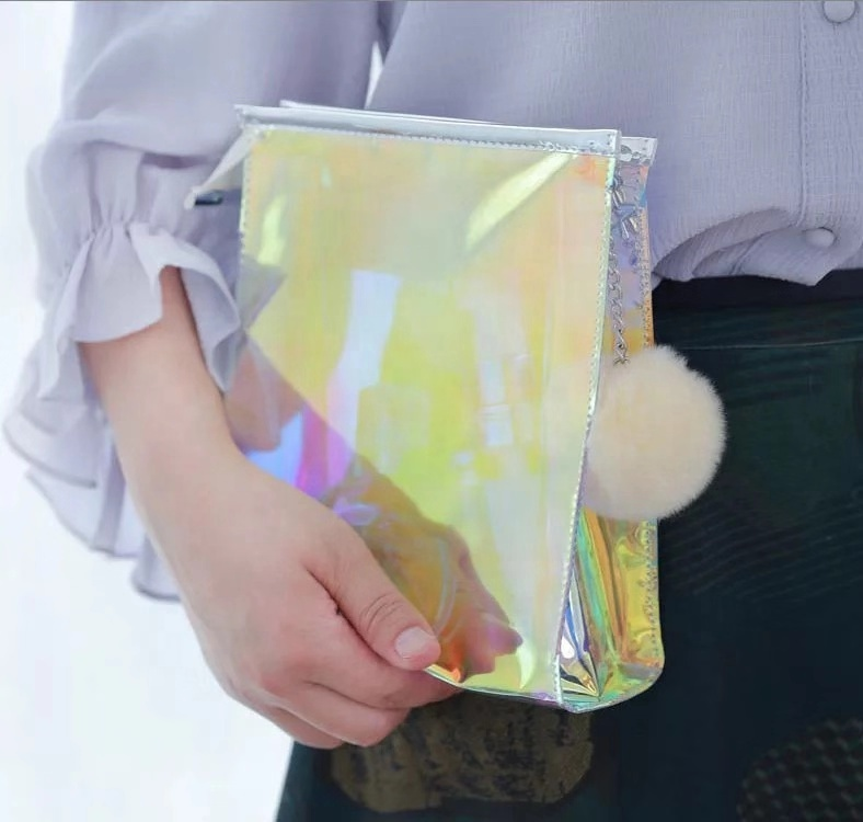 Holographic Pvc Bag Woman New Fashion Bags Women Fashion Bags Style And Women Gender Pvc Tote Bag Clear Pvc Bag
