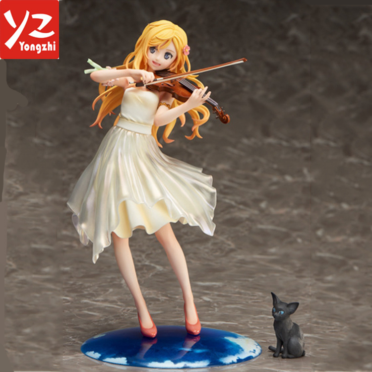 High Quality Gsc Your Lie In April Miyazono Kaori Action Figure Model Toys 1/8 Scale Miyazono Kaori Decoration Pvc Toys Toys & Hobbies