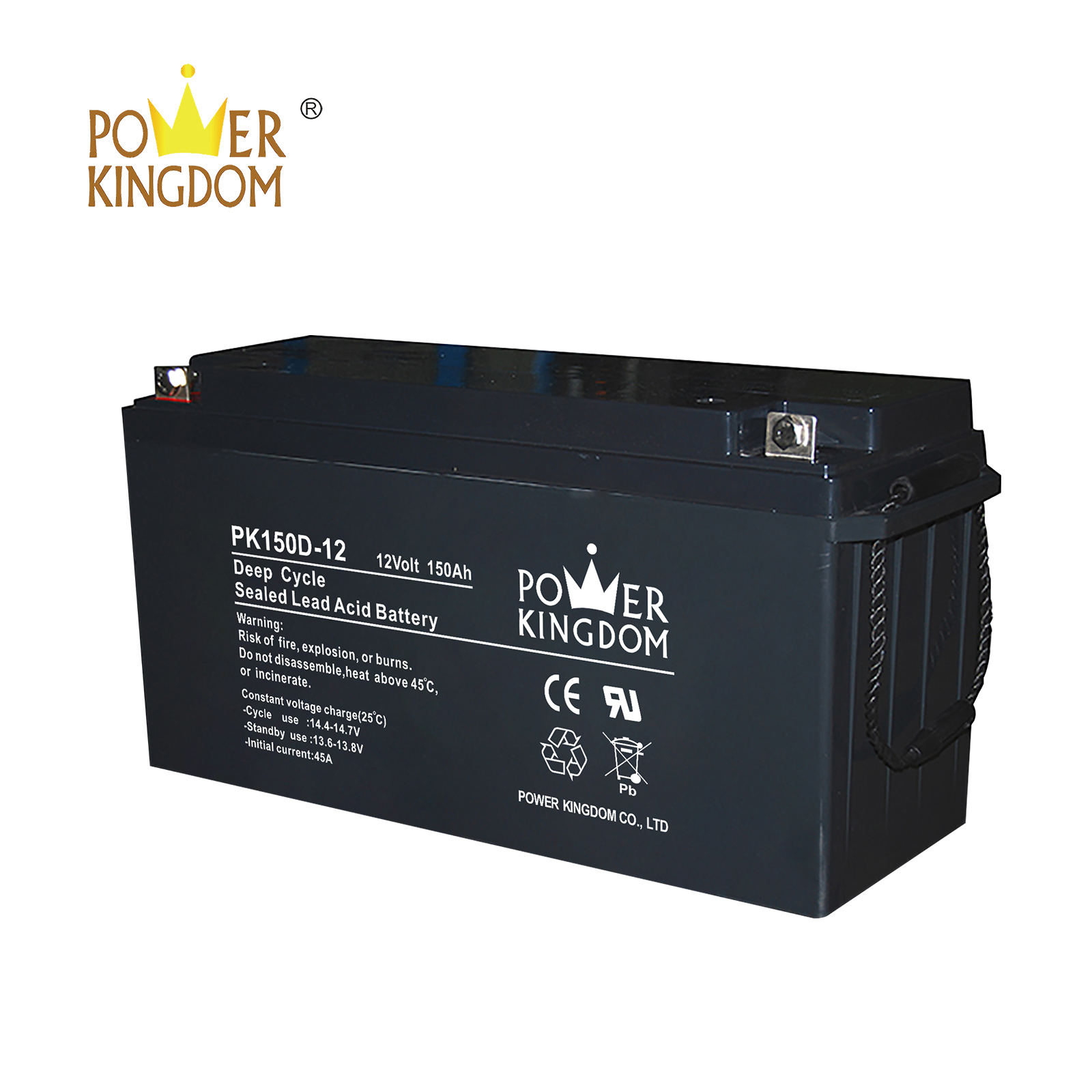 Power Kingdom Latest deep cycle marine battery charger Suppliers vehile and power storage system-2