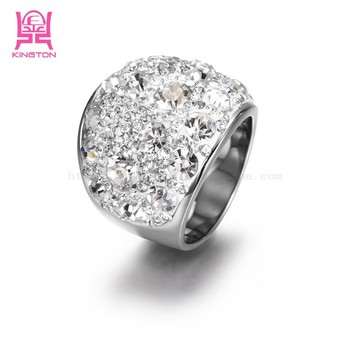 trendy heart platinum adjustable karatcart plated cut ring dp austrian elegant crystal women for price rings buy