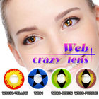 Cosmetic contact lens color mask lens cosplay color crazy contact lens