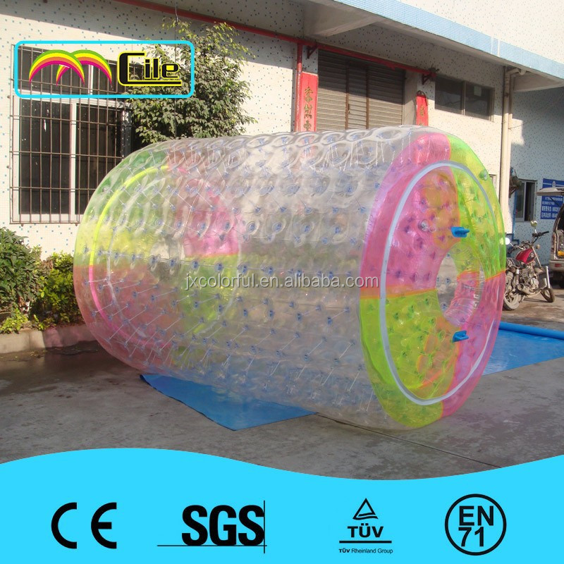 color rouleau gonflable de leau billes gonflable aqua roller ball pour piscine - Colorant Pour Piscine