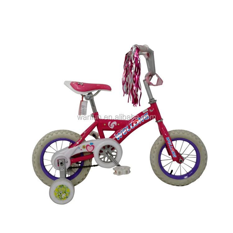 Portable Steel Y style frame children bike for 3 5 years old