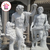 Premium Stone Classic nude male statue abstract marble sculpture