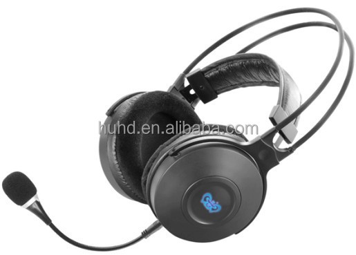 Private mould steel USB 5.1 computer headphone with tuner