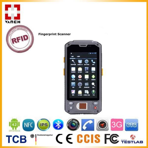 UHF RFID Handheld Contact Smart Card Reader