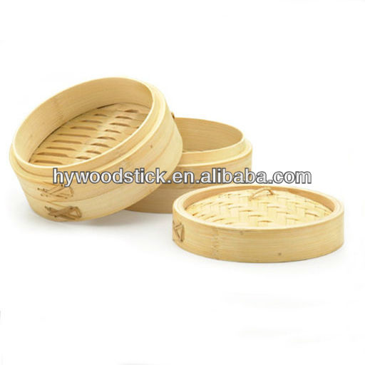 Steam Cooker In Bamboo