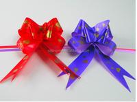 pull string ribbon bow