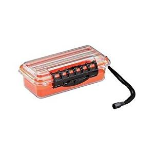 Plano Molding 145000 Orange Small Polycarbonate Waterproof Case by Plano Molding