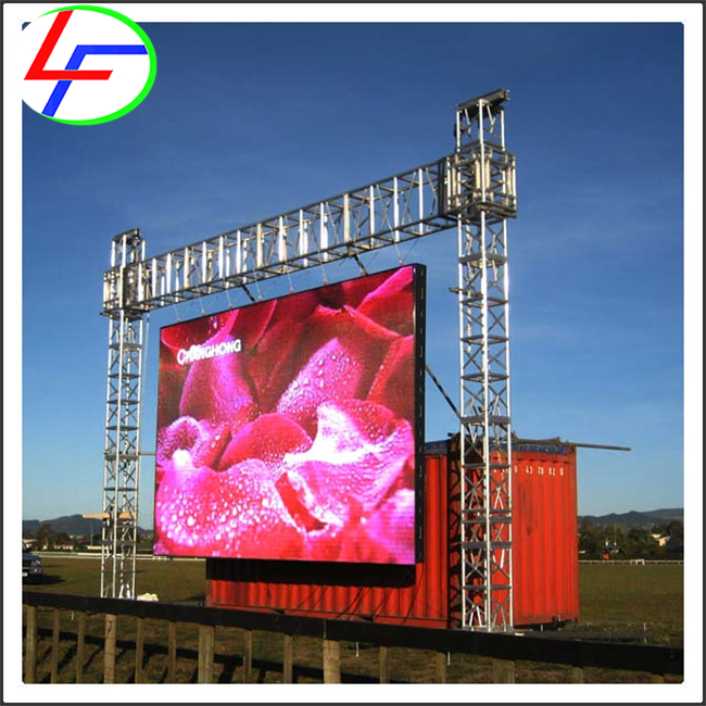 outdoor p4.81 display hd p2mm screen p2 led panel P6 Outdoor Advertising Module