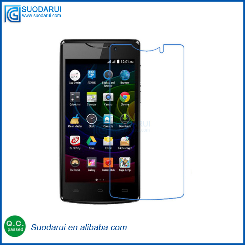 Clear LCD Screen Protector Film Foil Saver For Micromax Bolt D320