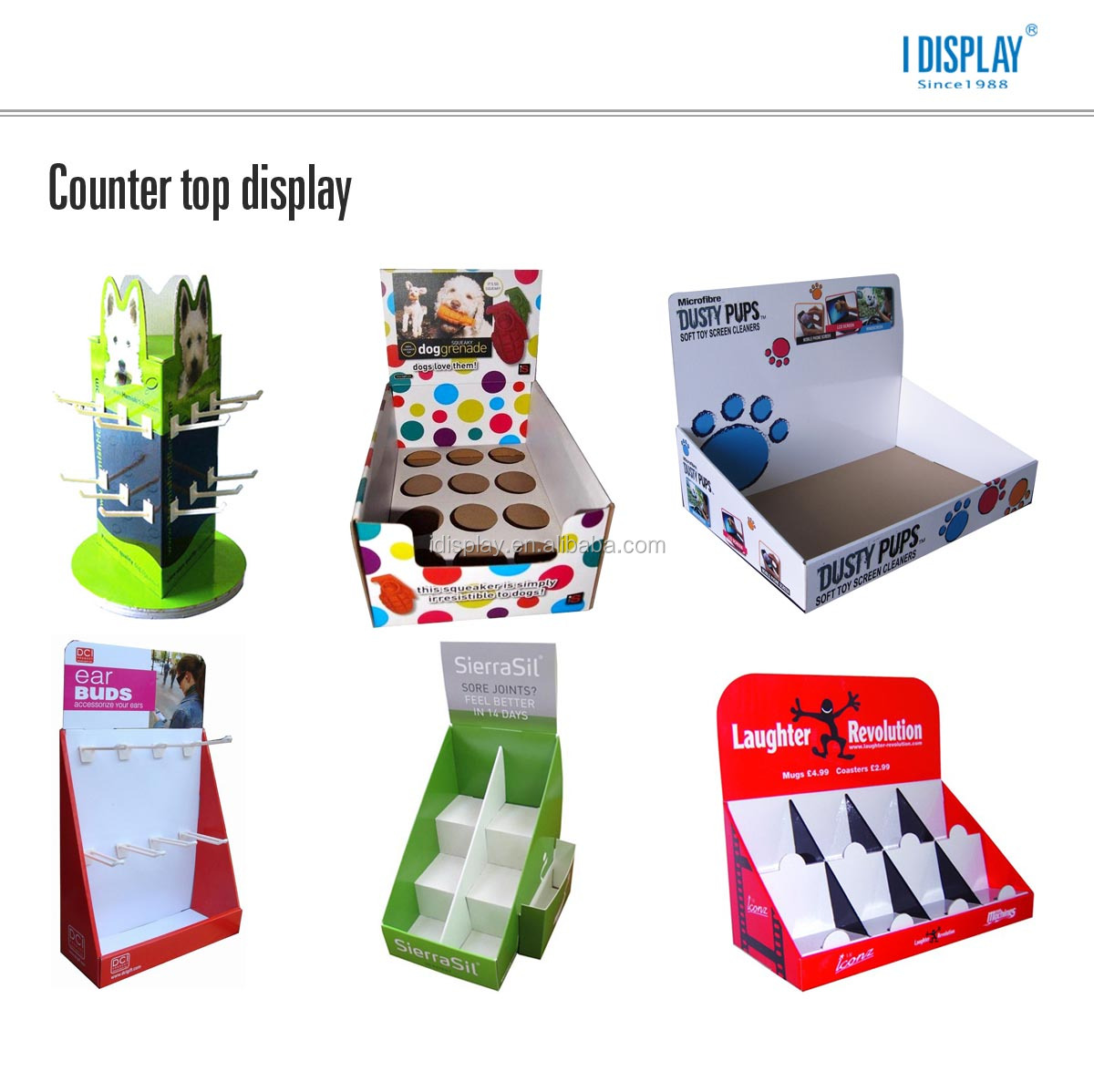 Table top product display - Customized Cardboard Pos Tabletop Display For Supermarket