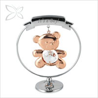 Special Creative Rose Gold Plated Metal 1 Year Old Baby Gifts