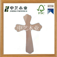 pine cheap unfinished decorative handmade whoelsale small wall hanging wooden cross
