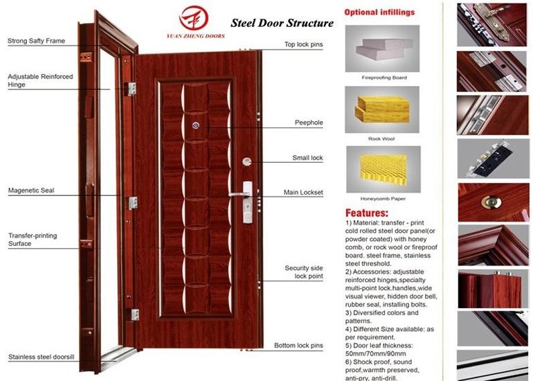bulletproof entry steel swing ghana door  sc 1 st  Alibaba & Bulletproof Entry Steel Swing Ghana Door - Buy Bulletproof Door ... pezcame.com