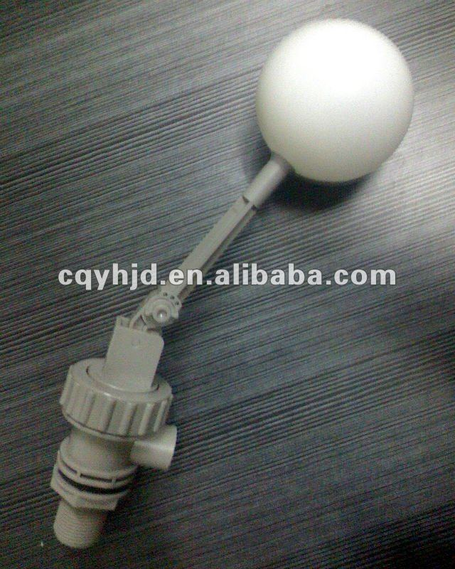 water tank quick stop plastic float valve