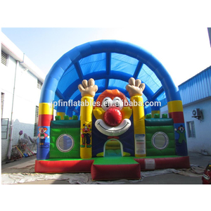 2018 inflatable fun city for amusement park / China games inflatable play center