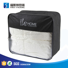 Common quilt packaging white plastic binding for wire frame bag