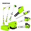 VERTAK 58V Battery Electric Cordless Tools Set, Garden power tool set