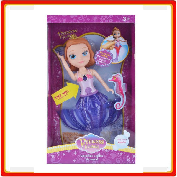 plastic princess little mermaid fashion doll