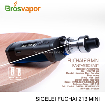 2017 new product Sigelei Fuchai 213 Mini mod from brosvapor