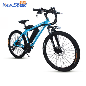 cheap 500w city e-bike/ebike/electric mountain bicycle with LCD display and front suspension fork