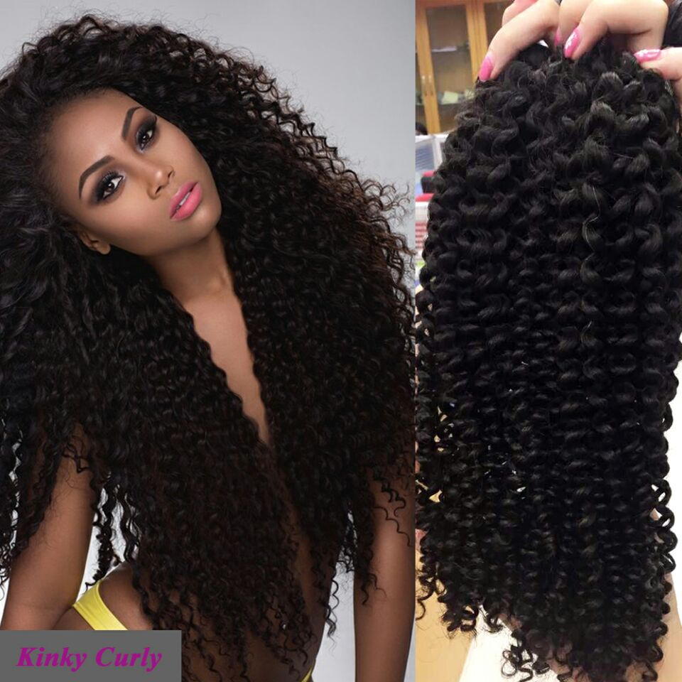 24 Inch Brazilian Remy Curly Human Hair Extensions Different Types