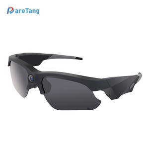 1080p Dome Glass Camera Night Vision Mini Spy Hidden Sunglass For Sport Action CCTV Security DV Recorder Camcorder