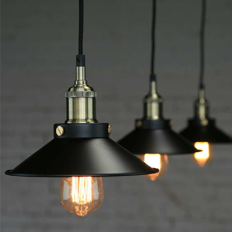 Aliexpress.com : Buy Loft Vintage Iron Black Pendant