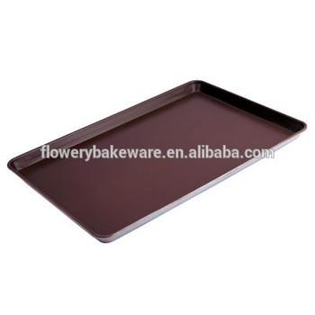 Non Stick Coating Silicone Round Aluminum Alloy Sheet Pan