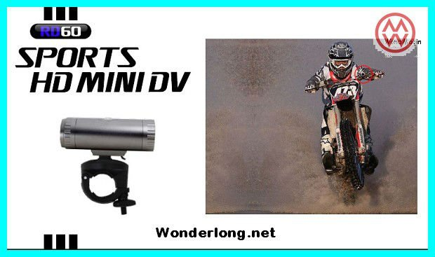 Newest Bullet Style Real 720P Waterproof Bicycle DV Camera at factory price