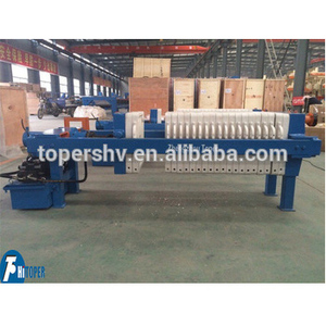 Hydraulic filter press used for construction dewatering and groundwater control in printing and dyeing plant