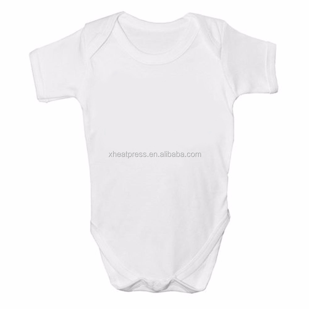 cheap price Sublimation Blank Baby Onesie short sleeve