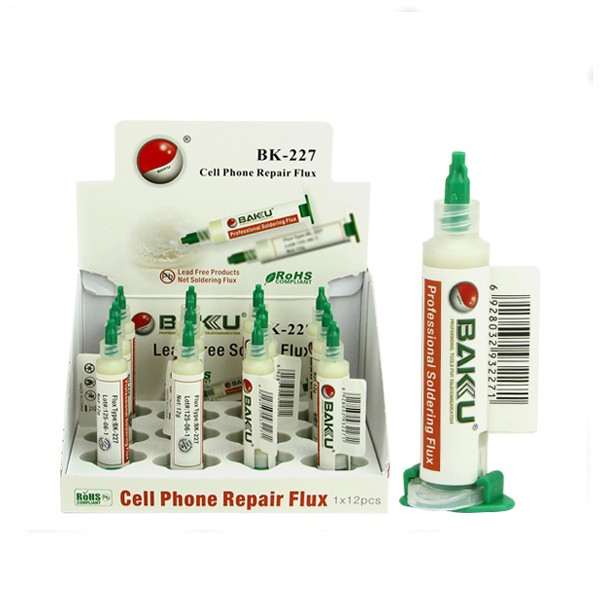 BAKU BK227 wholesale high qulity machine repair cell phone welding solder rosin liquid flux for circuit board