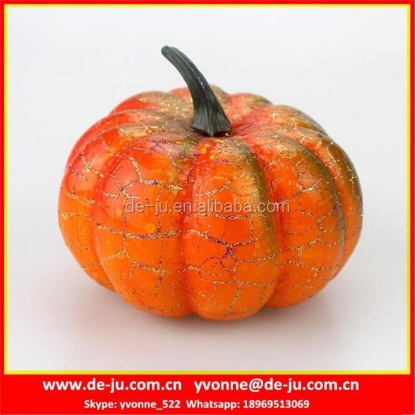 household decor plastic large fake pumpkins - Large Plastic Pumpkins