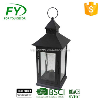Ml 2325 Camping Lights Decorative Antique Metal Led Solar Lantern Product On Alibaba