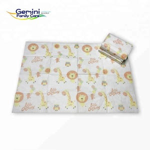 Disposable baby table diaper changing pad